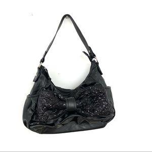 Betseyville Sequin Bow Shoulder Bag